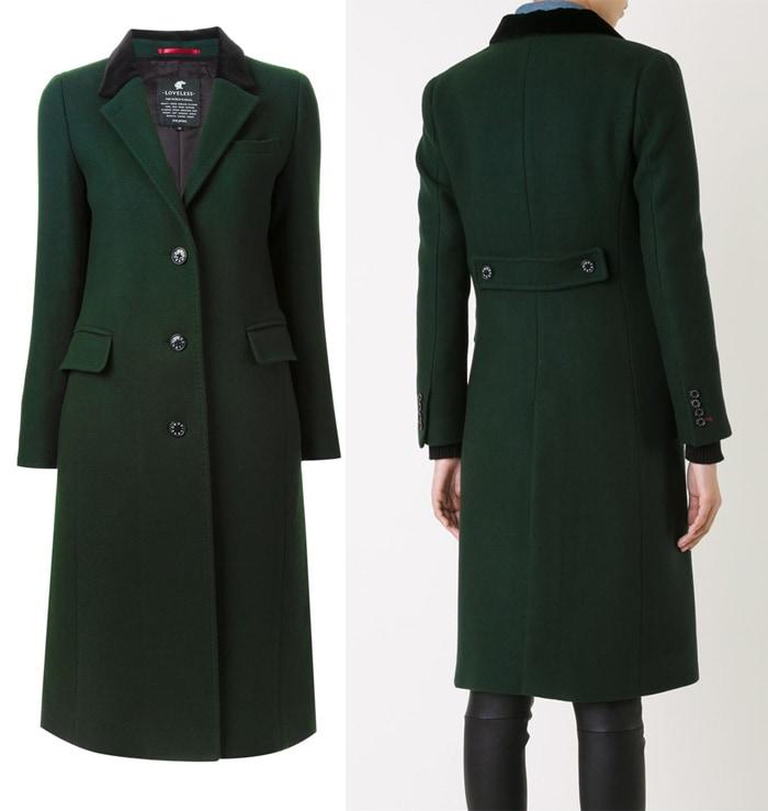 Loveless Classic Single Breasted Coat