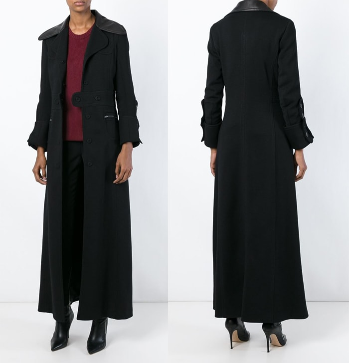 Maison Margiela Long Single Breasted Coat