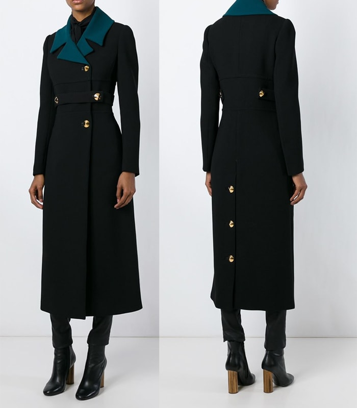 Roberto Cavalli Double Breasted Coat