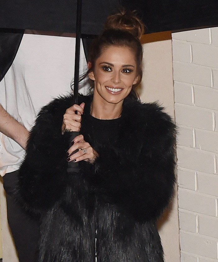 X Factor judges and contestants seen leaving Fountain Studios
