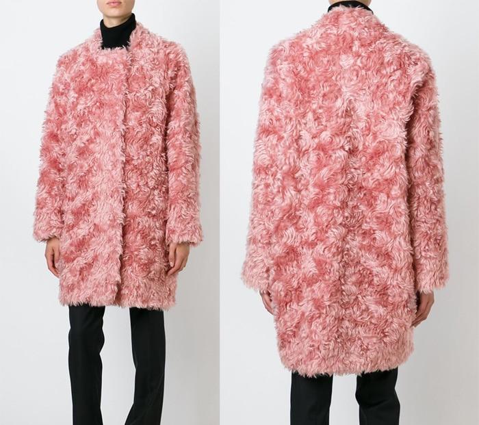 Dorothee Schumacher Faux Fur Coat