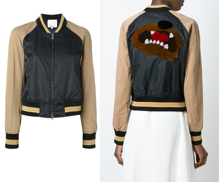 3 1 Phillip Lim Contrast Bomber Jacket