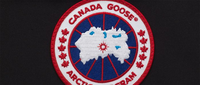 Well-embroidered patch on an authentic coat