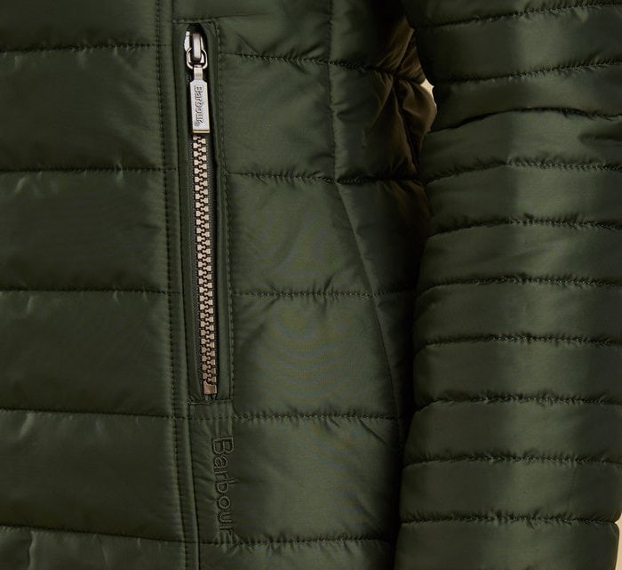 Barbour's high-quality zippers should glide very easily