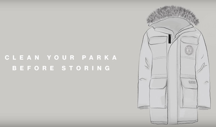 Clean Your Parka Before Storing