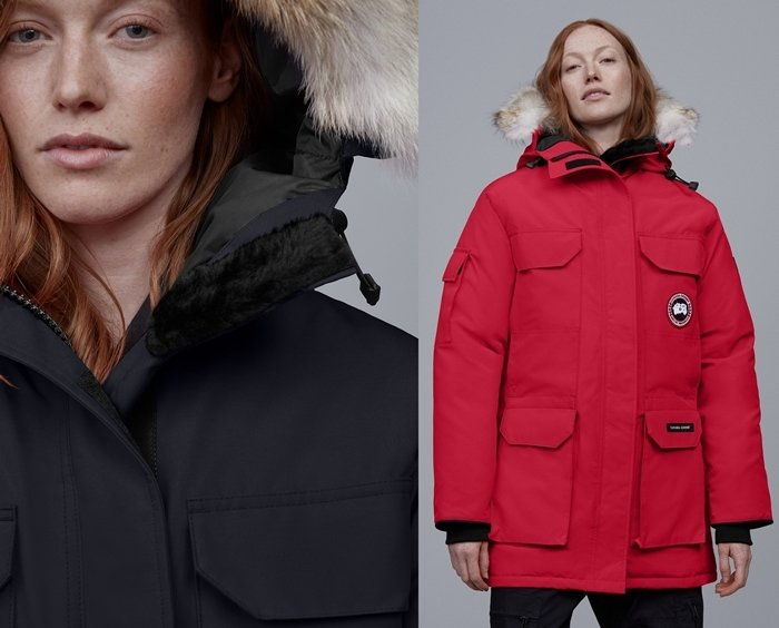 The Expedition is the original extreme weather parka, developed for scientists working in McMurdo Station, Antarctica
