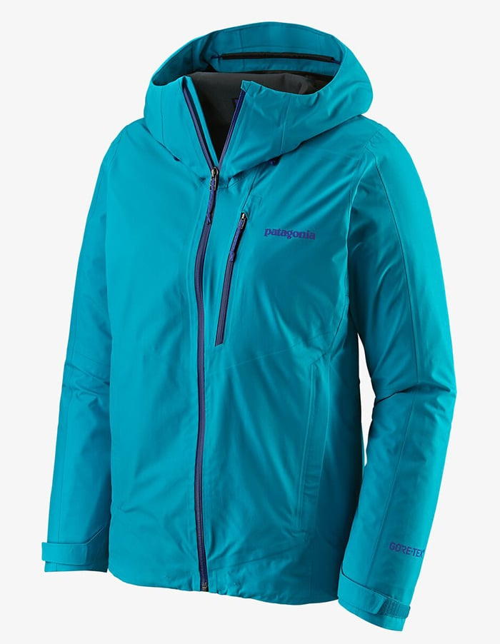 The Calcite features a light yet durable, packable Gore-Tex shell that's integrated with Paclite Plus technology