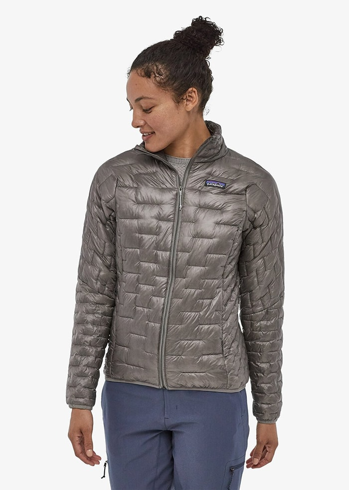 An ultra-lightweight and water-resistant jacket that doesn't sacrifice warmth and comfort