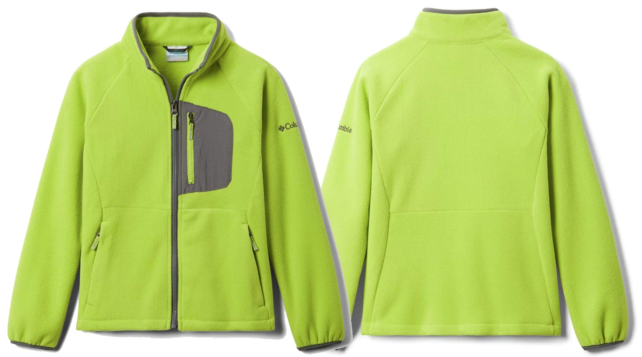 Let your kids feel like a big adventurer in this tech-inspired Columbia Fast Trek III jacket