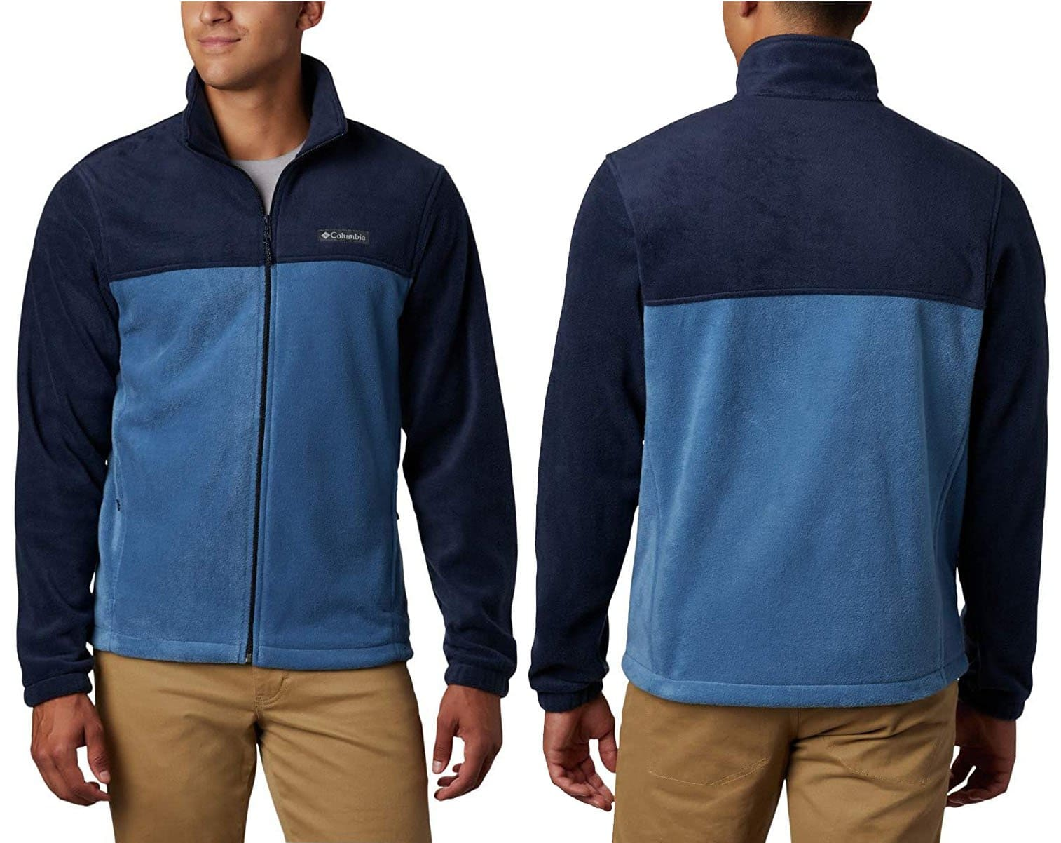 Columbia's Steens Mountain jacket is crafted from ultra-soft 100% polyester MTR filament fleece