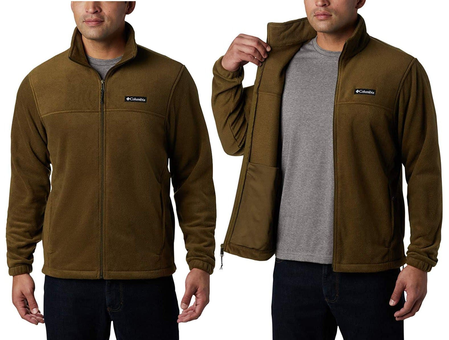 The Steens Mountain jacket is available in solid and two-tone colorways