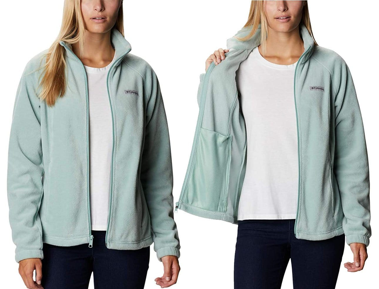 The Benton Springs is a stylish yet functional jacket made of soft fleece fabric