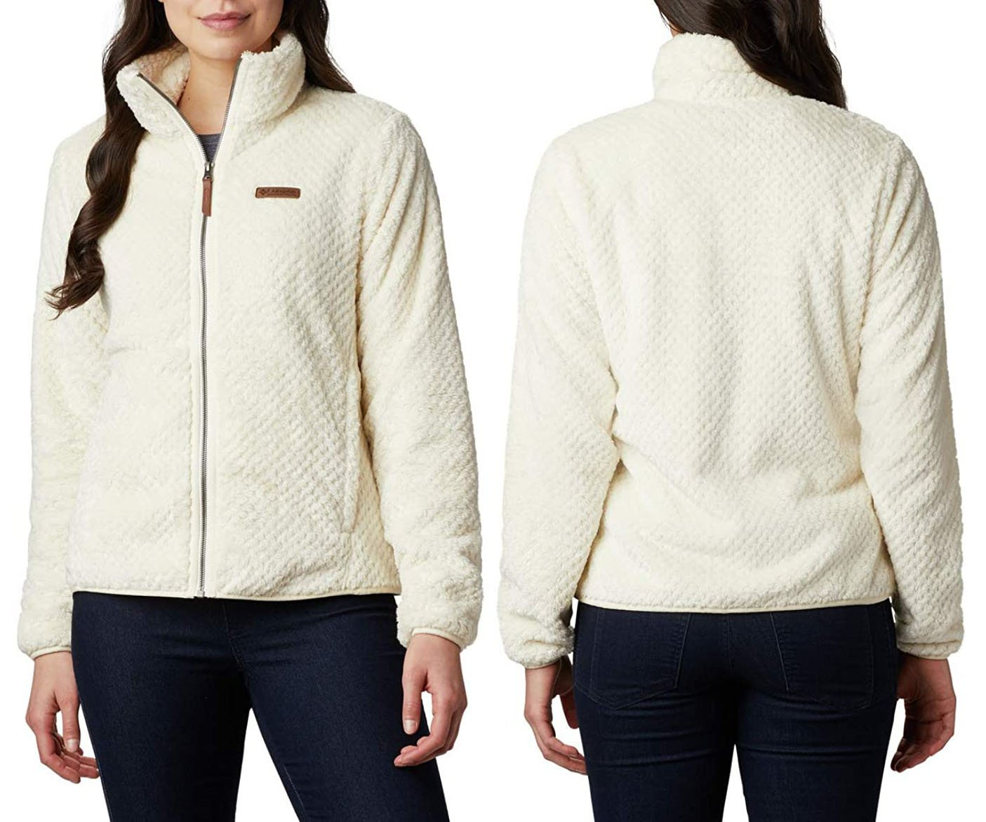 With an hourglass silhouette, a full-zip fastening and a posh collar, the Fire Side II lets you stay warm in style