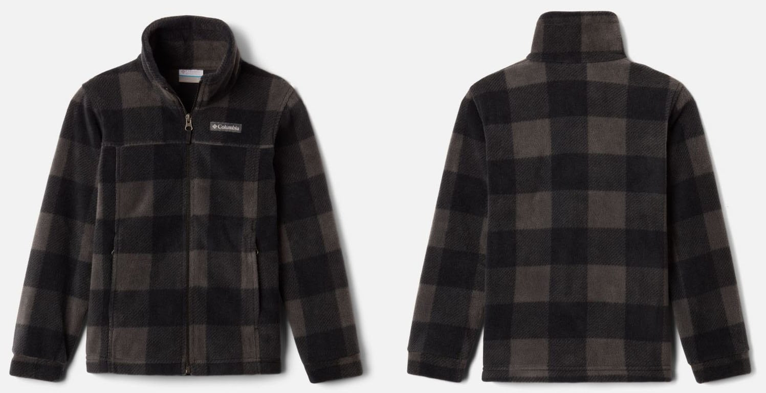 The Zing III jacket features a super comfy fleece fabric with zippered hand pockets and comfort cuffs