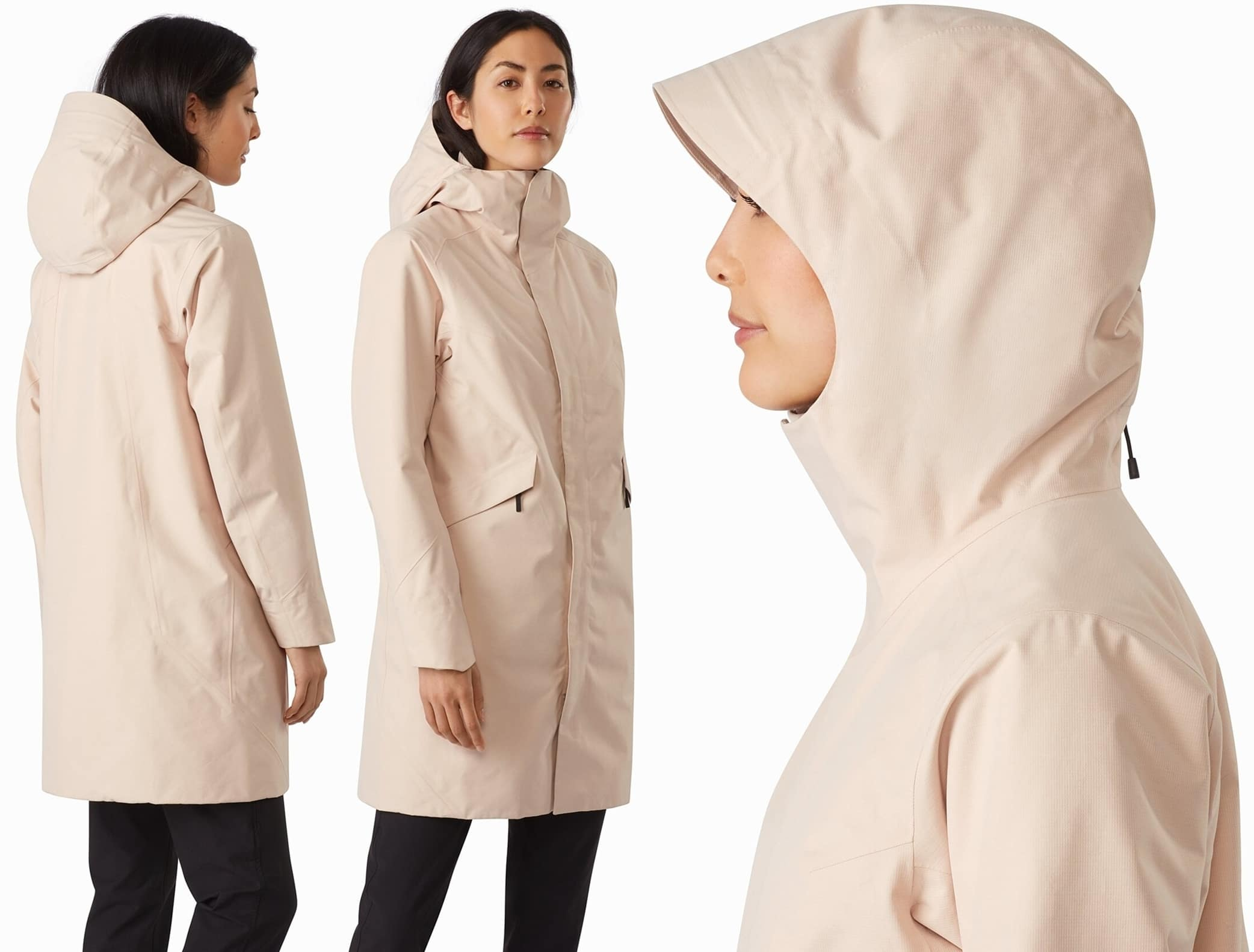 GORE-TEX protection and lightweight warmth in a coat with everyday city style