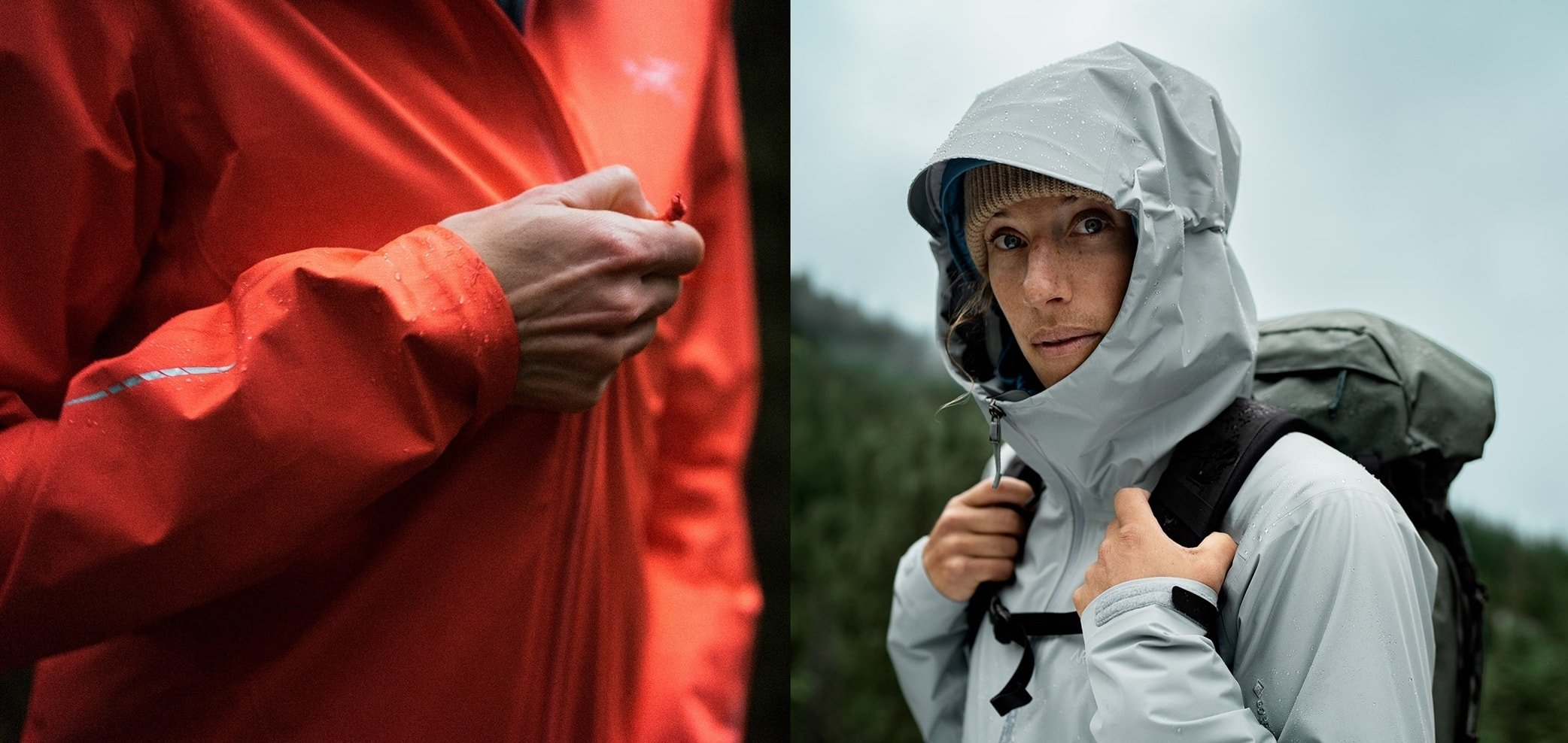 Arc'teryx's waterproof rain jackets will help you stay dry and comfortable