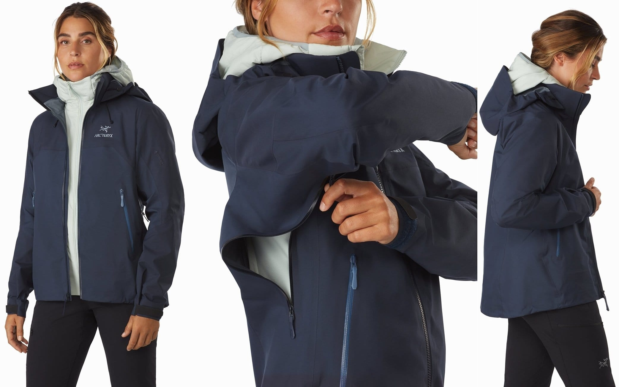 Light, packable, highly versatile GORE-TEX PRO shell with hybrid construction