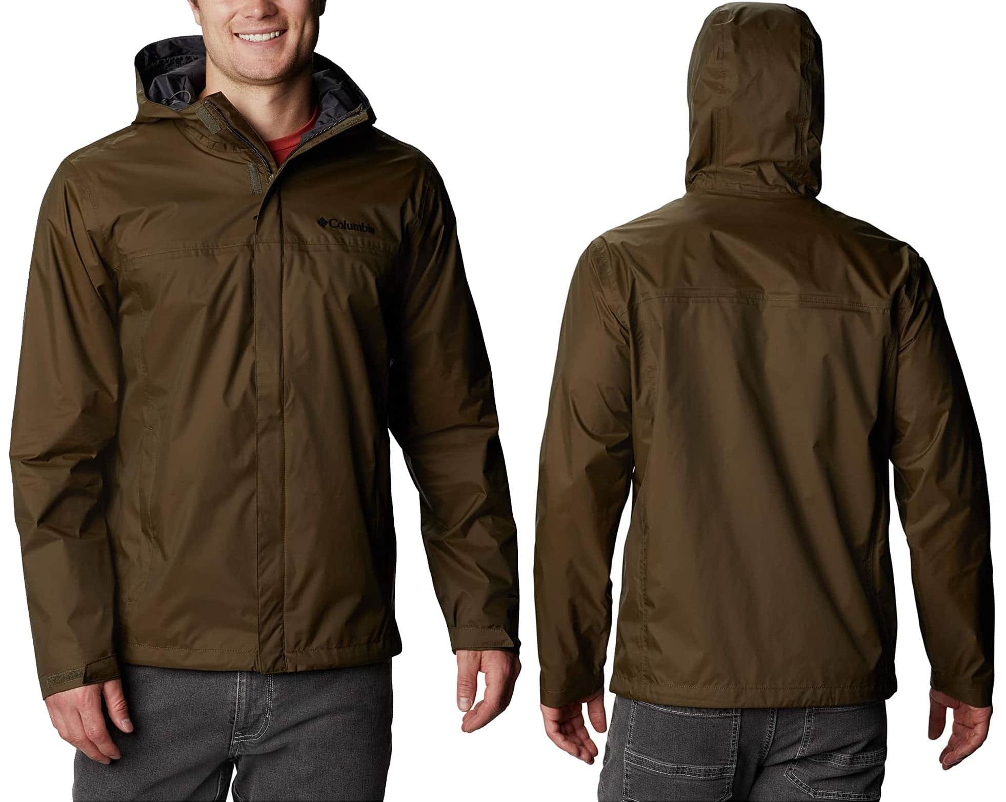 Incorporated with OmniTech shell, the Columbia Watertight II will keep you dry even in the heaviest of rains