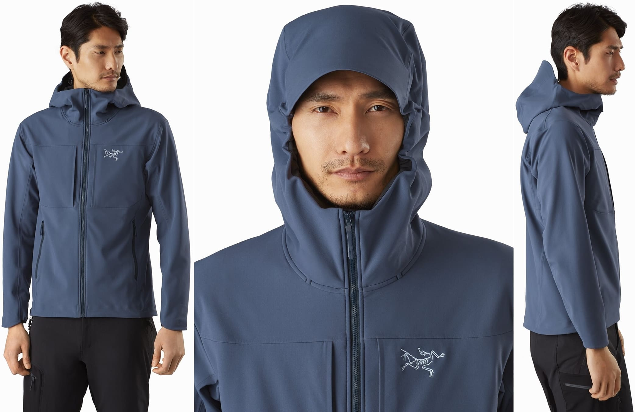 Warm, weather-resistant, exceptionally durable softshell hoody