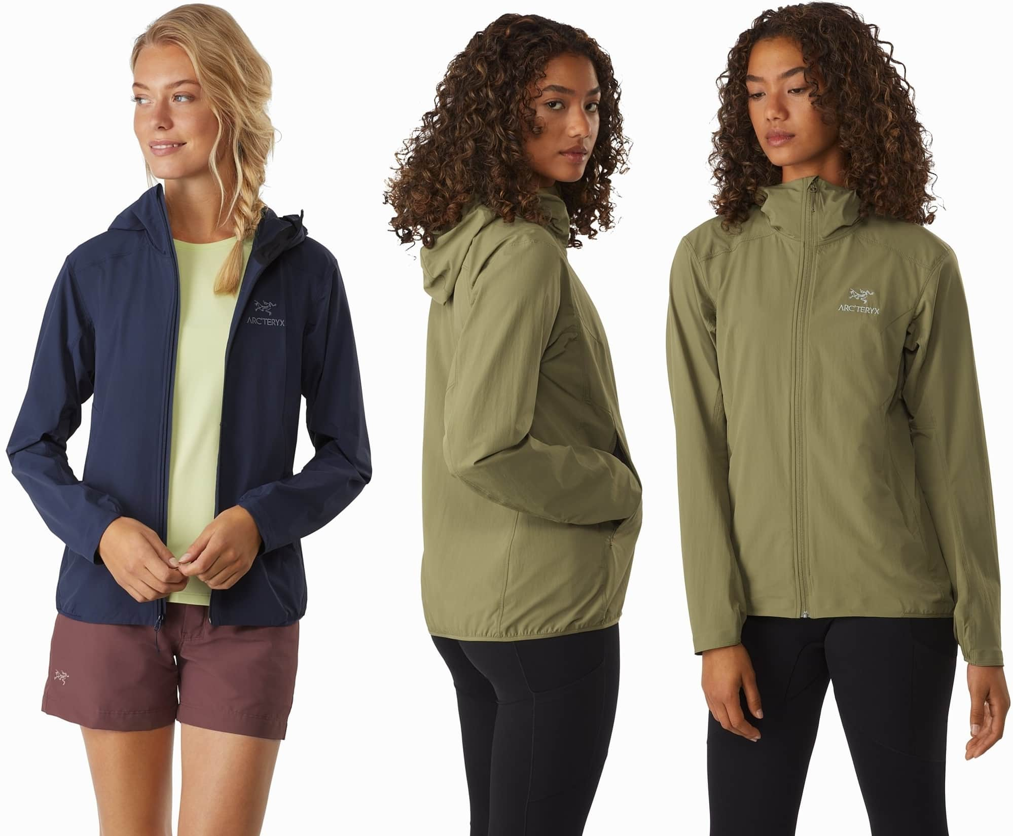 Versatile, superlight softshell for hiking and a range of active mountain adventures