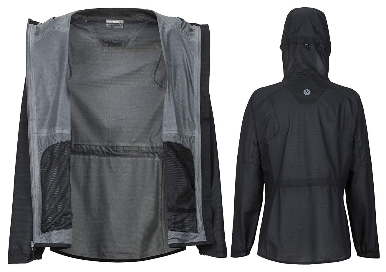 Although lightweight, it's packed with technical features to keep you dry and comfortable