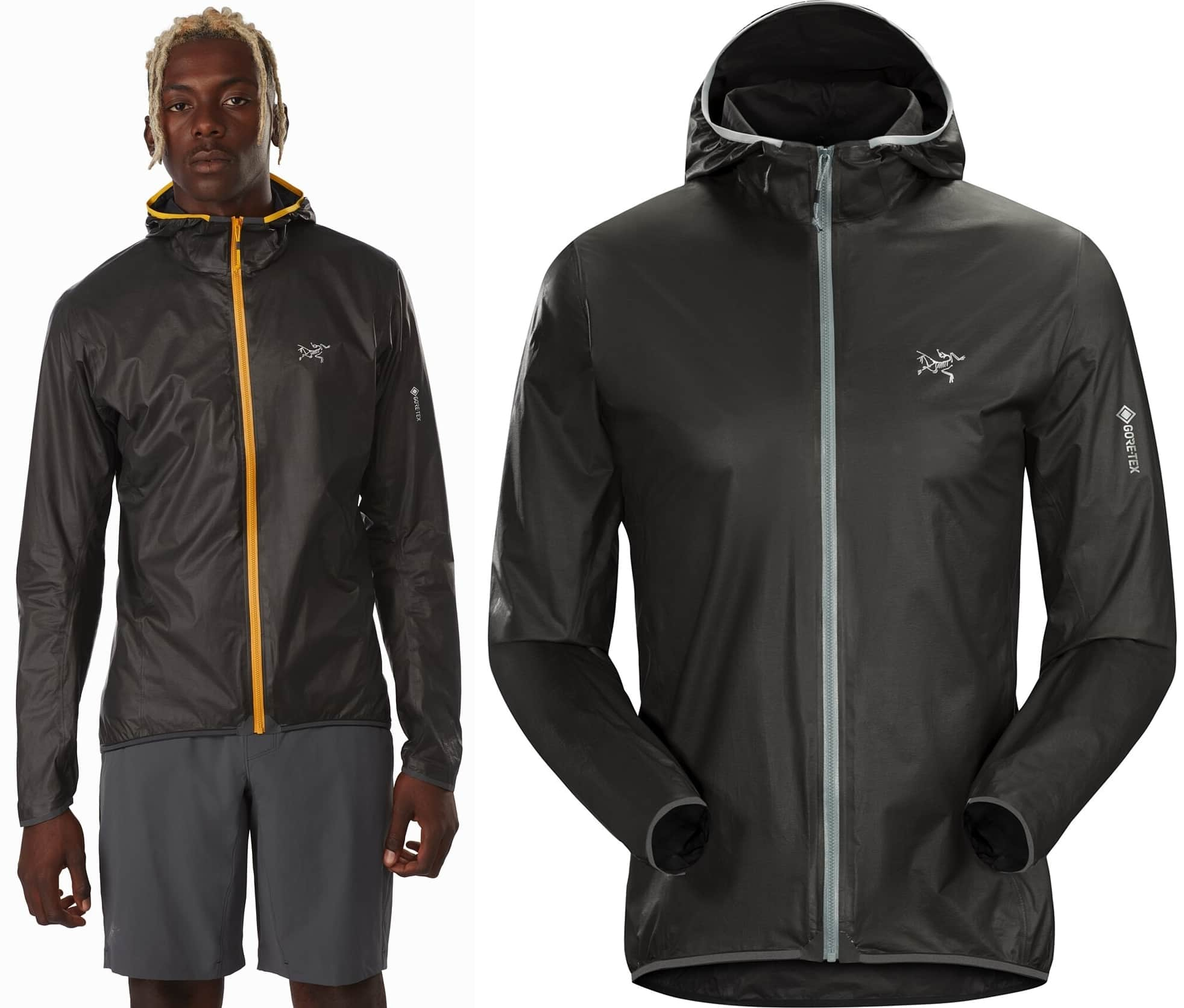 The lightest, most breathable Arc'teryx GORE-TEX trail running jacket