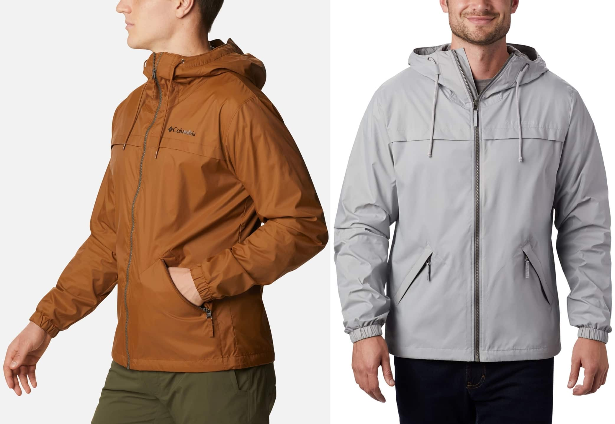 Perfect for drippy weather, this rain jacket helps protect you from the elements on the trail, around the campsite, or out on the patio