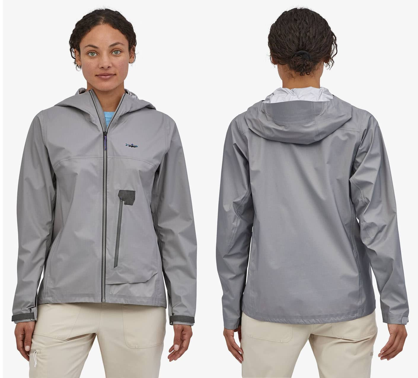 This minimalist go-everywhere jacket is breathable and waterproof to keep you dry and comfy