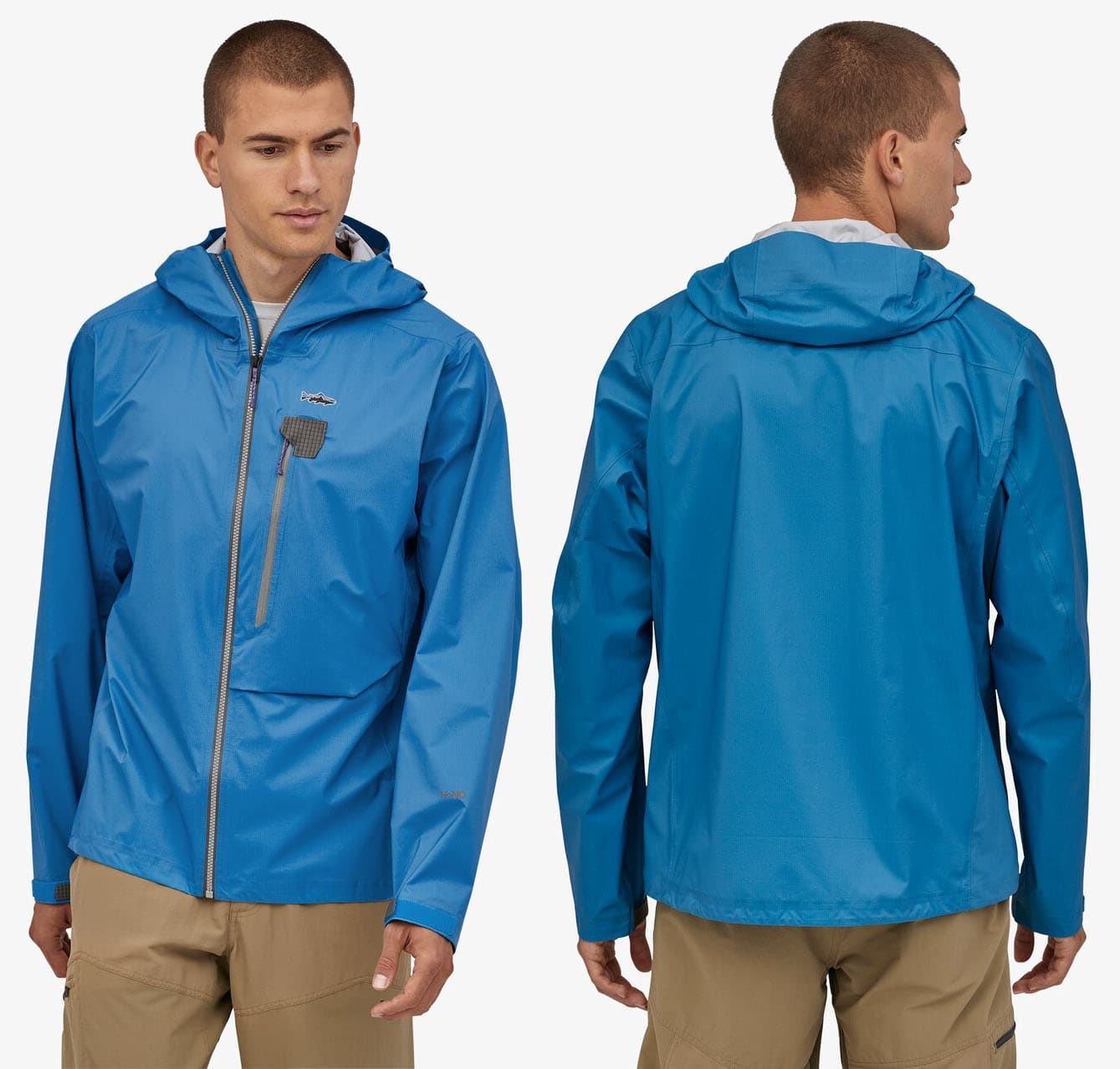 You can keep this feature-packed jacket in your bag in case of sudden rain