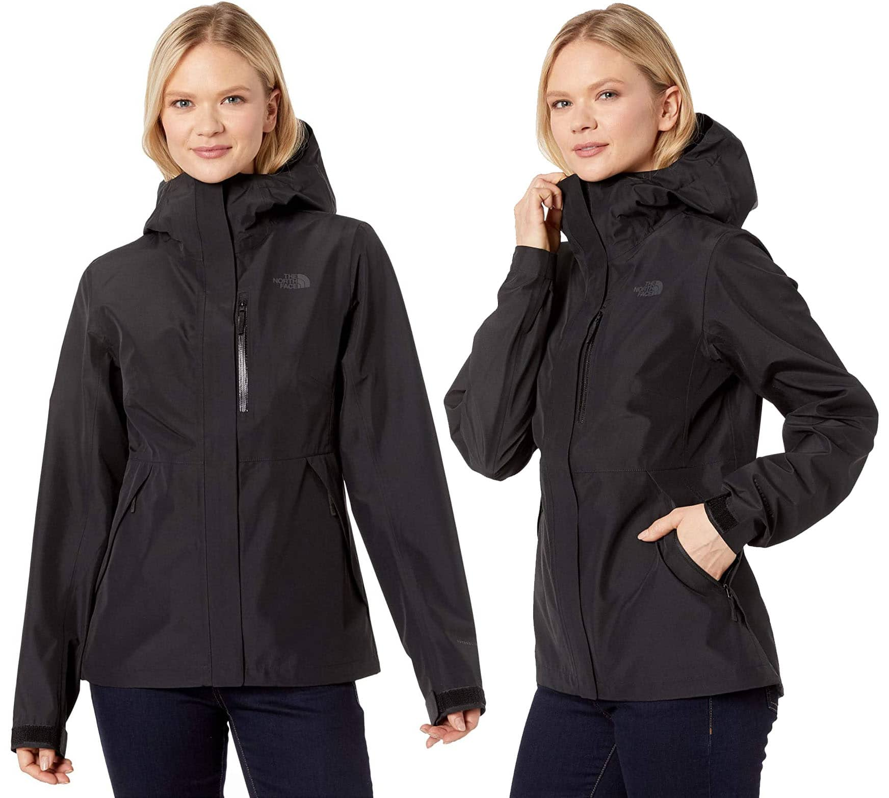 The North Face Dryzzle Futurelight jacket is ideal for active adventures no matter the weather