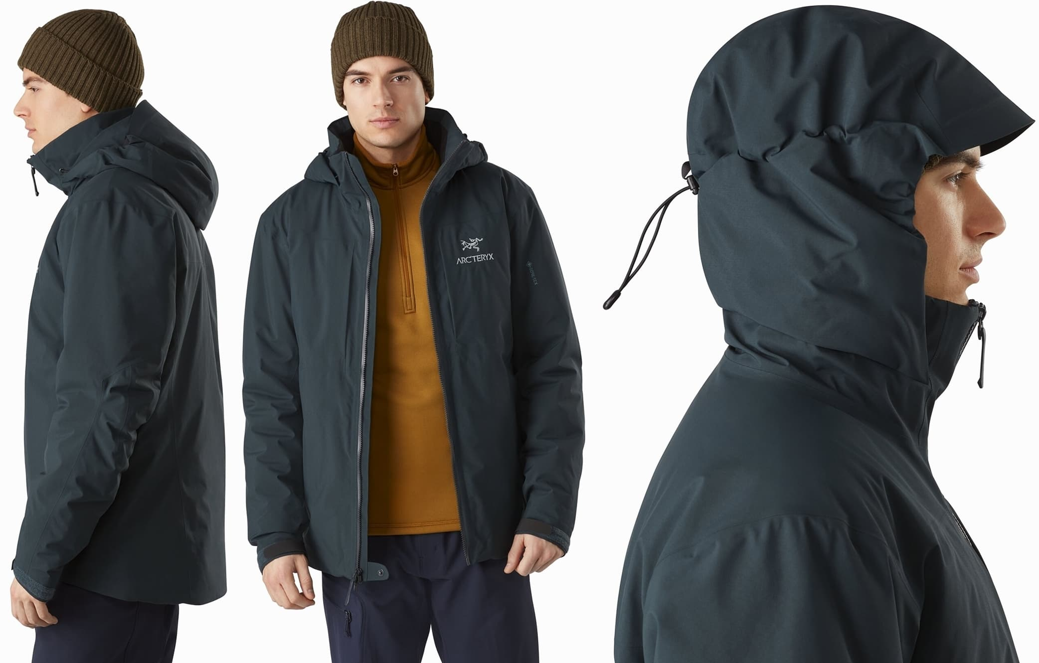 The warmest fully waterproof rain jacket in the Arc'teryx Essentials collection