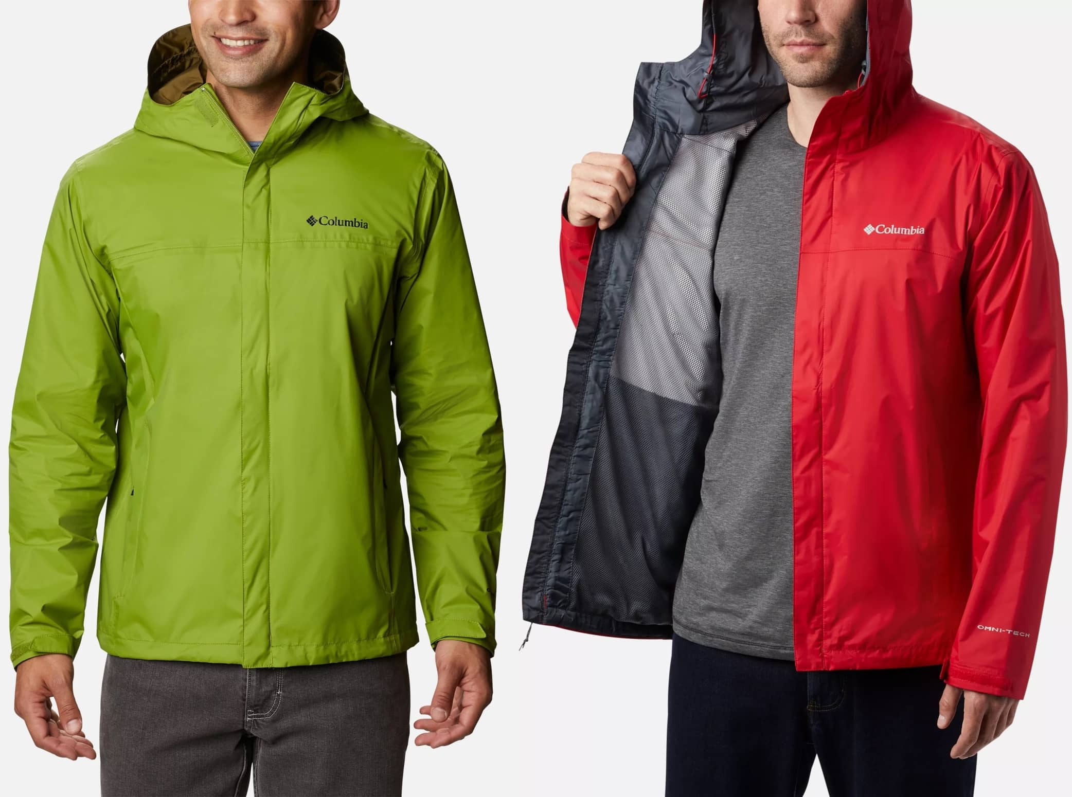 This waterproof-breathable, fully seam-sealed jacket will keep you nice and dry, even in the heaviest of rains